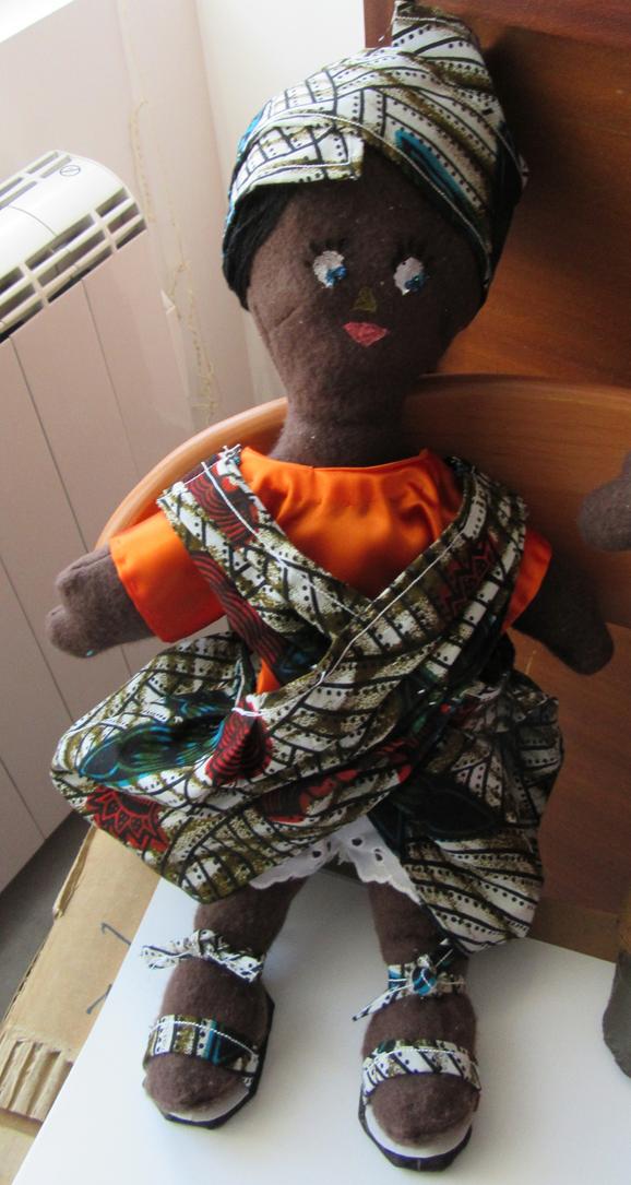 Africaine boubou