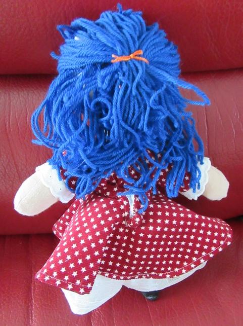 Chippie bleue dos