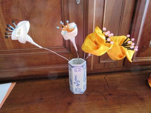 Fleur ruban