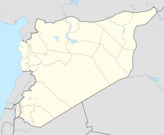Syria location map3 svg